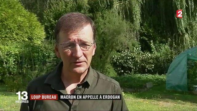 Loup Bureau : Macron en appelle à Erdogan afin de libérer le journaliste