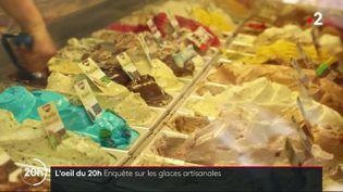 Enquête sur les glaces artisanales (FRANCE 2 / FRANCETV INFO)
