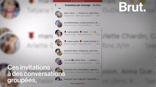 VIDEO. Qui se cache derrière ces faux comptes qui polluent nos messageries ? (BRUT)