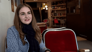 """Fanny Carbonnel, une actrice française dans """"Les Animaux fantastiques""""  (Capture d'écran France 3 / Culturebox)"""