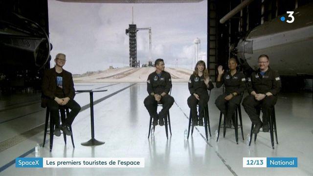 SpaceX : un premier vol spatial embarque quatre touristes autour de la Terre