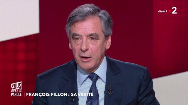 """François Fillon : """"A aucun moment, il n'y a eu de solution de remplacement"""""""