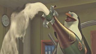 Une scène du film d'animation Madagascar. (FRANCEINFO)