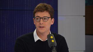 Sacha Houlié, Député de la 2e circonscription de la Vienne, Vice-Président de l'Assemblée nationale. (RADIO FRANCE / JEAN-CHRISTOPHE BOURDILLAT)