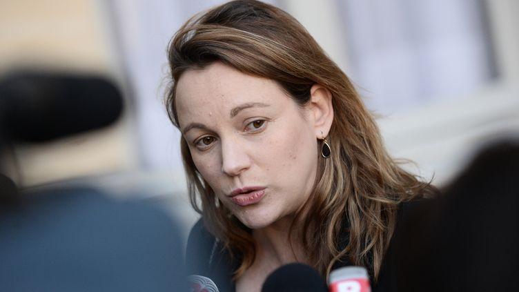 Axelle Lemaire, le 3 décembre 2015 à Paris. (STEPHANE DE SAKUTIN / AFP)