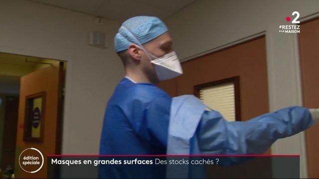 Coronavirus : les grandes surfaces s'apprêtent à vendre des masques