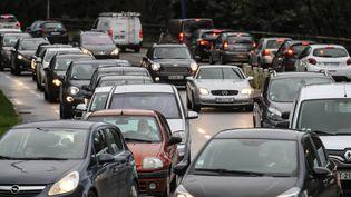 Ils ne nous ont pas manqué mais ils vont être de retour... Les embouteillages (illustration). (VINCENT MICHEL / MAXPPP)