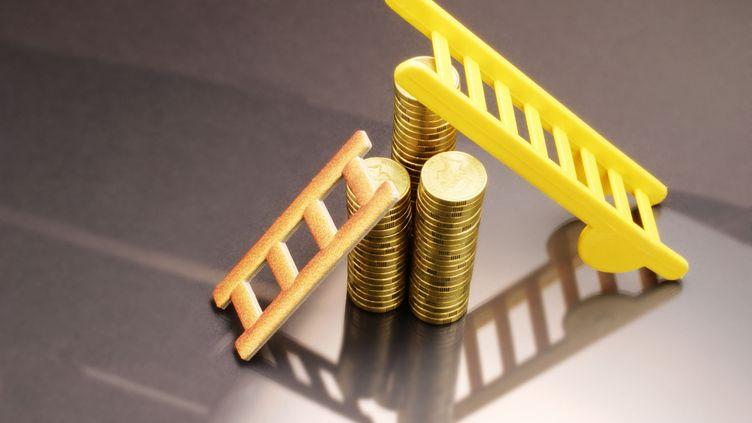 L'Insee a révisé à la hausse le taux de croissance du produit intérieur brut français au deuxième trimestre 2013, le 24 décembre 2013. ( GETTY IMAGES NORTH AMERICA)