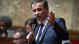 Nicolas Dupont-Aignan, le 5 juin 2018, à l'Assemblée nationale (Paris). (BERTRAND GUAY / AFP)