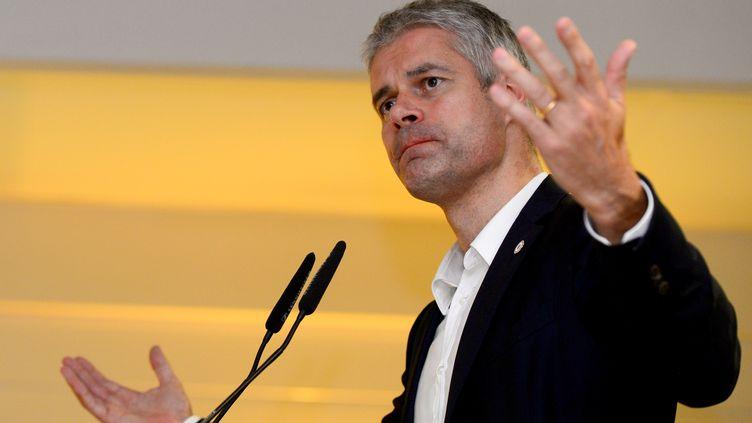 Laurent Wauquiez le 23 novembre 2017. (NICOLAS TUCAT / AFP)