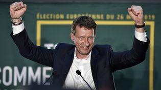 Yannick Jadot, le 26 mai 2019, à Paris. (STEPHANE DE SAKUTIN / AFP)