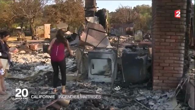 Californie : les incendies enfin maîtrisés