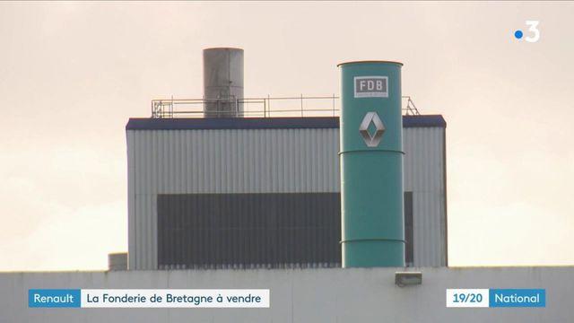 Industrie : la Fonderie de Bretagne Renault est à vendre