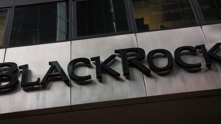 Le bureau de BlackRock à New York (Etats-Unis), le 16 janvier 2014 (illustration). (ANDREW BURTON / GETTY IMAGES NORTH AMERICA / AFP)