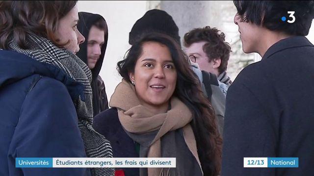 Universités : Etudiants étrangers, les frais qui divisent