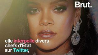 VIDEO. Rihanna, une artiste engagée aux 280 millions d'albums vendus (BRUT)