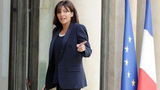 Anne Hidalgo, maire PS de Paris, à l'Elysée (Paris), le 11 septembre 2014. (STEPHANE DE SAKUTIN / AFP)