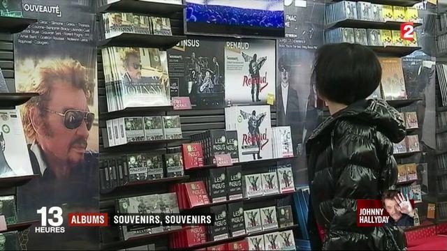 Les ventes de disques de Johnny Hallyday risquent d'exploser