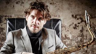 Le saxophoniste Samy Thiébault  (Laurence Laborie)