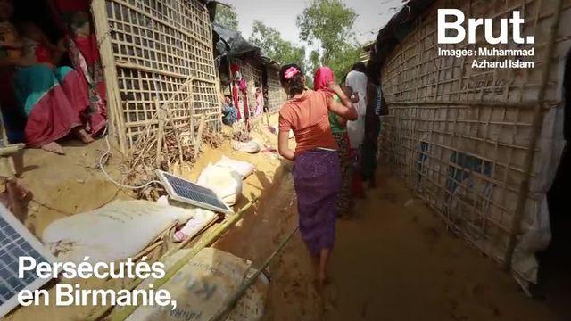Le quotidien des réfugiés Rohingyas dans un camp au Bangladesh