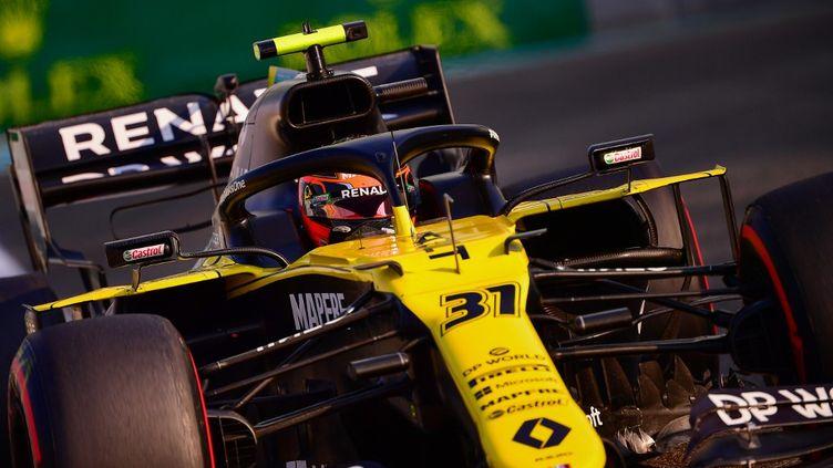 Le pilote français Esteban Oconlors des essais du GP d'Abu Dhabi, dernière sortie de l'écurie Renault en F1. (GIUSEPPE CACACE / POOL)