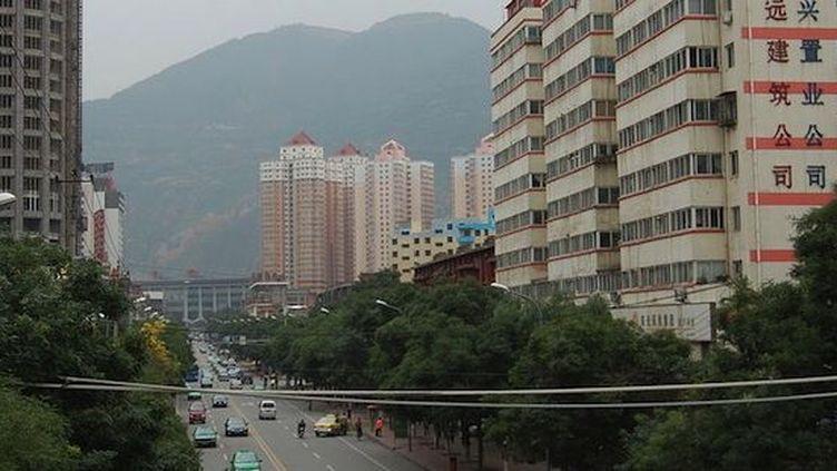 La ville de Lanzhou, plus de trois millions d'habitants au centre de la Chine. (DR)