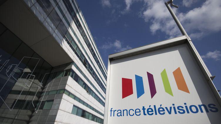 Le siège de France Télévisions, dans le 15e arrondissement de Paris. (JOEL SAGET / AFP)