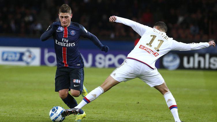 Le milieu de terrain italien du Paris Saint-Germain, Marco Verratti.  (THOMAS SAMSON / AFP)