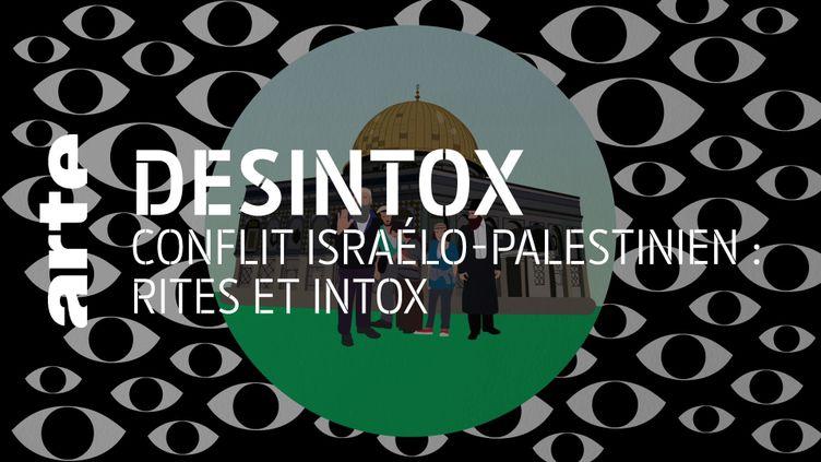 Conflit israélo-palestinien : non, des Israéliens ne déchirent pas leur vêtements pour faire croire qu'ils ont été victimes d'attaques palestiniennes. (ARTE/2P2L)