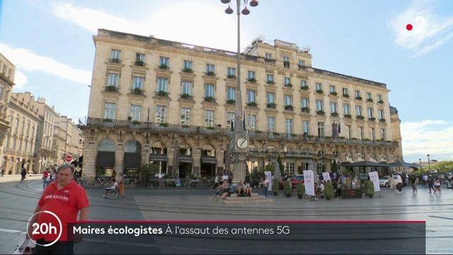 Les antennes 5G dans le viseur des maires écologistes