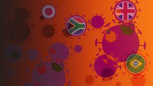 Différents variants du virus inquiètent la planète. (STÉPHANIE BERLU / RADIO FRANCE)