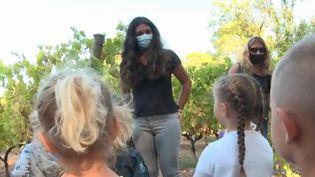 Vendanges : les enfants découvrent la vigne (FRANCEINFO)