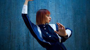La musicienne Suzane participe à la première édition en ligne du festival Reperkusound de Lyon (Liswaya)