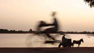 """Affiche des Rencontres de Bamako : Charles Okereke,""""Homeward"""", Mali, 2010. (CHARLES OKEREKE)"""