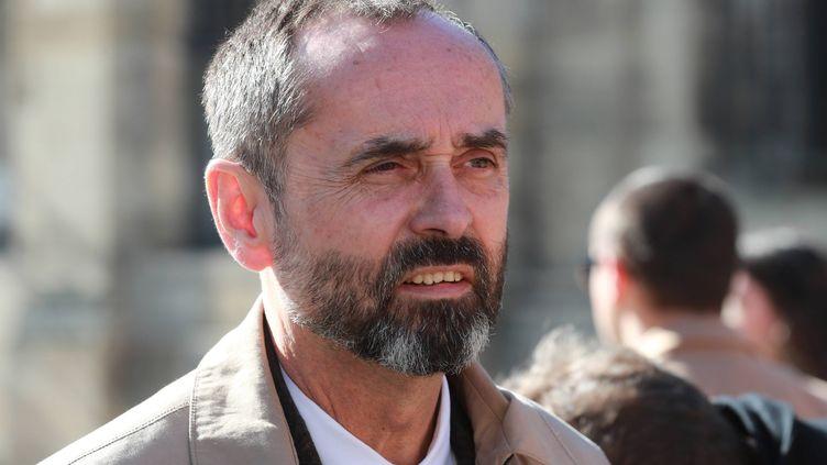 Robert Ménard, le maire de Béziers, (photo du 15 février 2019). (COTTEREAU FABIEN / MAXPPP)