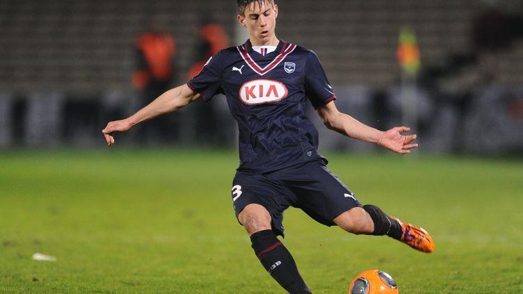 Le jeune défenseur Théo Pellenard (NICOLAS TUCAT / AFP)