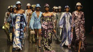 Tongoro à la Lagos Fashion Week, octobre 2018  (Sunday Alamba/AP/SIPA)