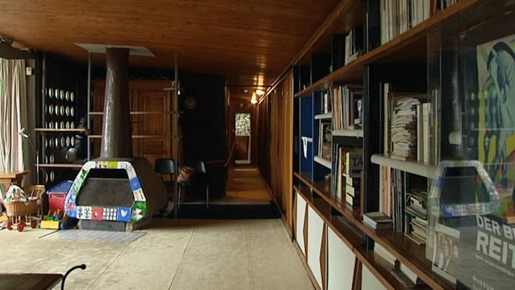 L'intérieur de la maison de Jean Prouvé  (France 3 Culturebox)