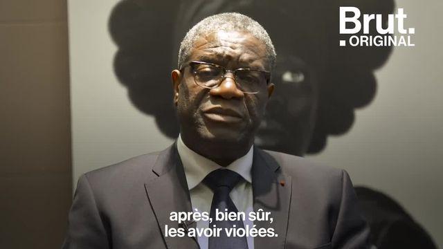 Il a reçu le prix Nobel de la paix en 2018 pour sa lutte contre les mutilations génitales commises sur les femmes de son pays. Brut a rencontré le médecin engagé congolais Denis Mukwege.