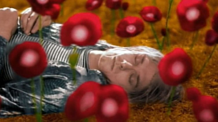 "Kurt Cobain dans le clip de ""Heart Shaped Box"" (Director's Cut).  (Anton Corbijn)"