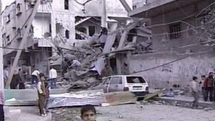 destructions à Gaza (© France 3)