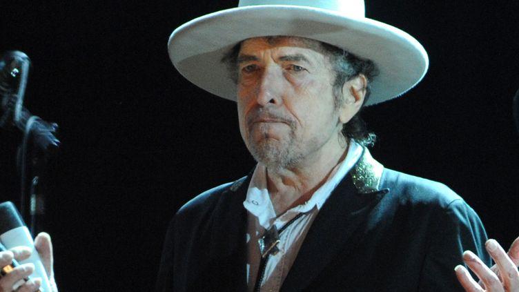 Bob Dylan en 2012  (FRED TANNEAU / AFP)