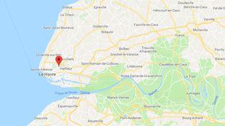 Le Havre (Normandie). (GOOGLE MAPS)