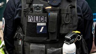 Les caméras équipant lesforces de l'ordre seraient inopérantes, selon les syndicats de police. (NICOLAS LIPONNE / NURPHOTO / AFP)