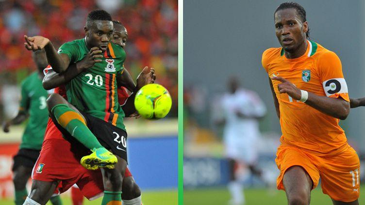 Emmanuel Mayuka face à Didier Drogba, l'affiche de la finale de la CAN 2012