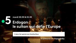 """C dans l'air """"Erdogan : le sultan qui défie l'Europe"""" (FRANCE 5)"""