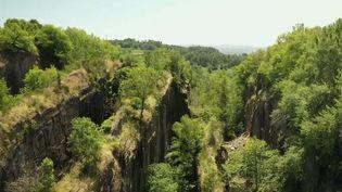Le 20h vous emmène à la découverte d'un paysage impressionnant, vertigineux. Il s'agit d'anciennes carrières d'ardoise, celles de Travassac en Corrèze. Ce qu'il en reste aujourd'hui, ce sont des tranches de montagnes découpées, des chemins creusés à 60 mètres de profondeur, dans lesquels la flore s'est imposée en quelques décennies. (France 2)