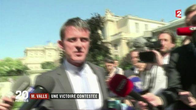 Manuel Valls : sa victoire à Évry contestée