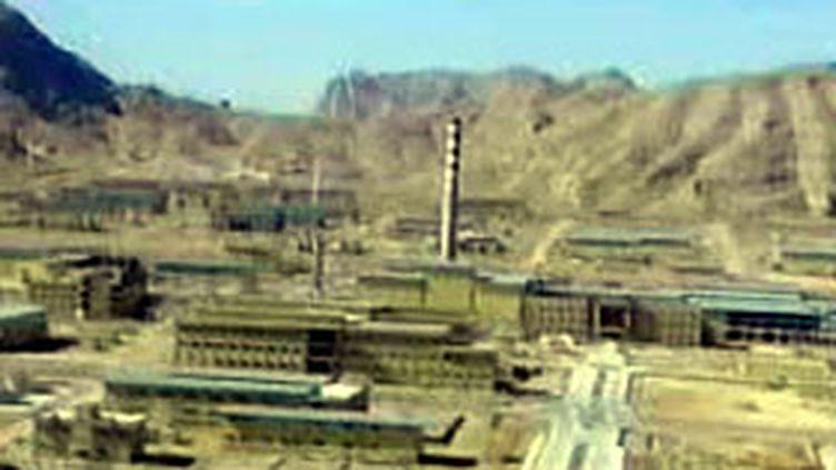 Site nucléaire iranien (© F2)