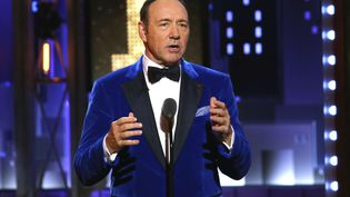 L'acteur Kevin Spacey aux Tony Awards à New Yorkk, le 11 juin 2017. (MICHAEL ZORN/AP/SIPA / AP)